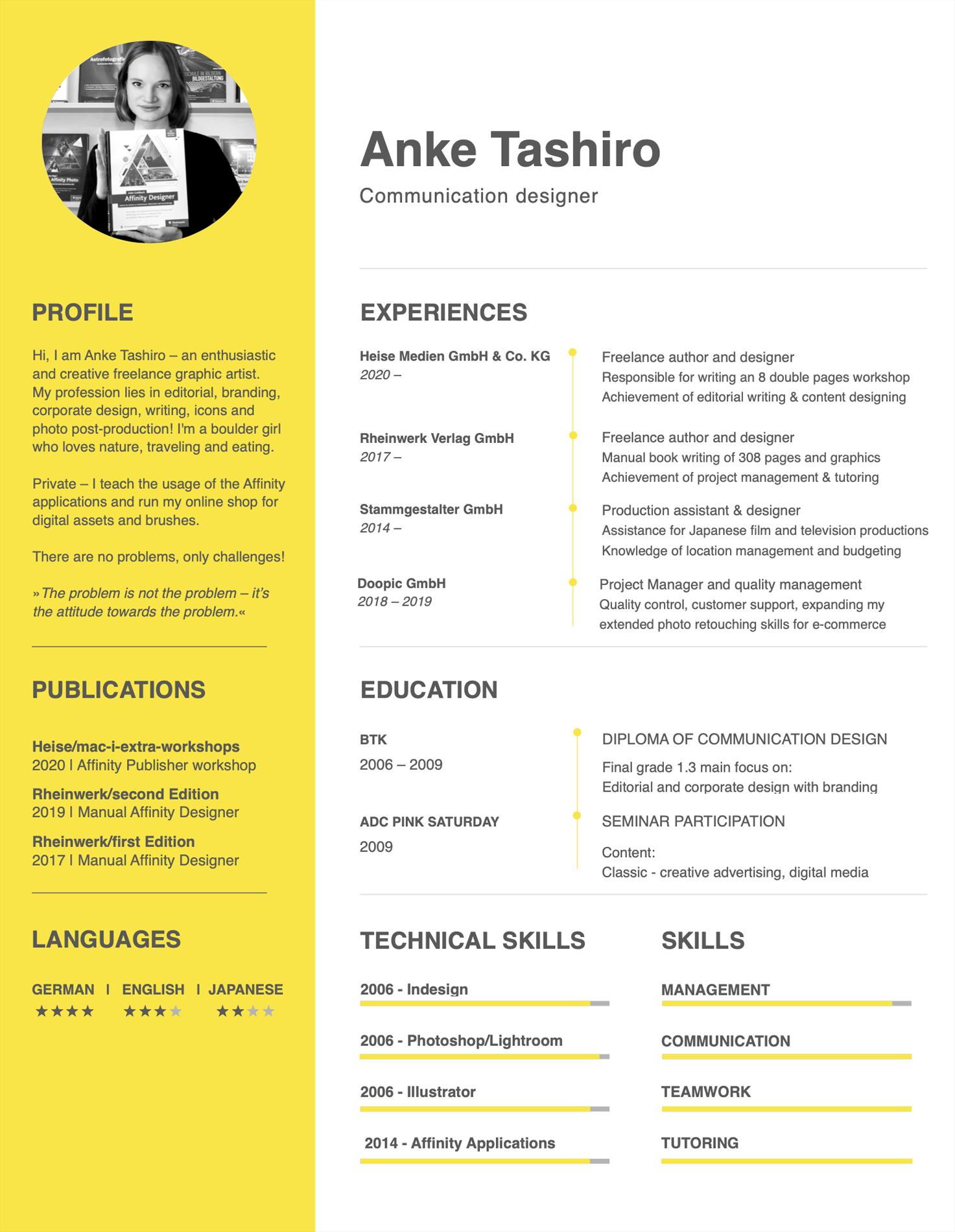 CV Anke Tashiro